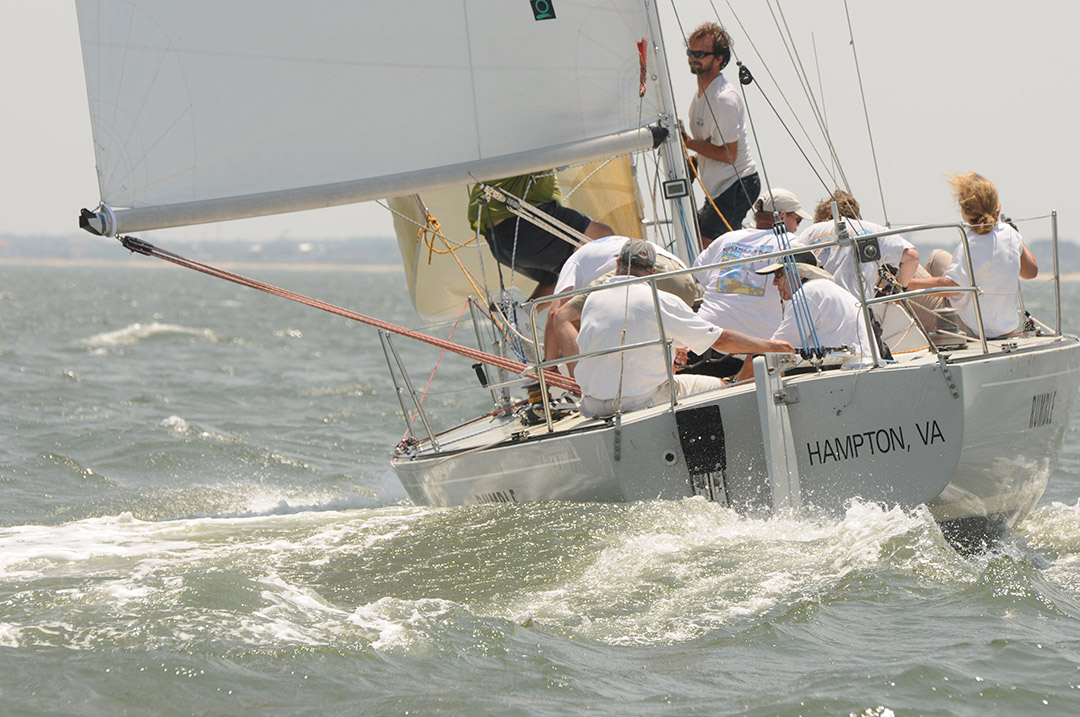 PHRF competitor at 2010 Southern Bay Race Week