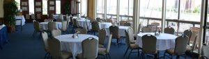 main dining room with waterview at HYC, Hampton, VA