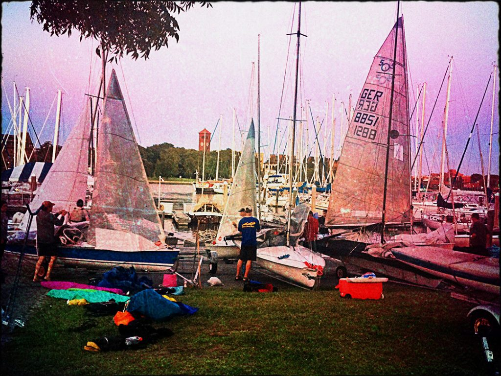 There is an active International 505 fleet at Hampton Yacht Club