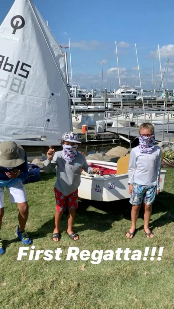 Opti Green Fleet First Timer Regatta 2020