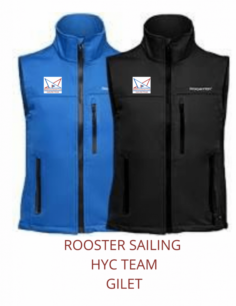 ROOSTER SAILING HYC TEAM GILET