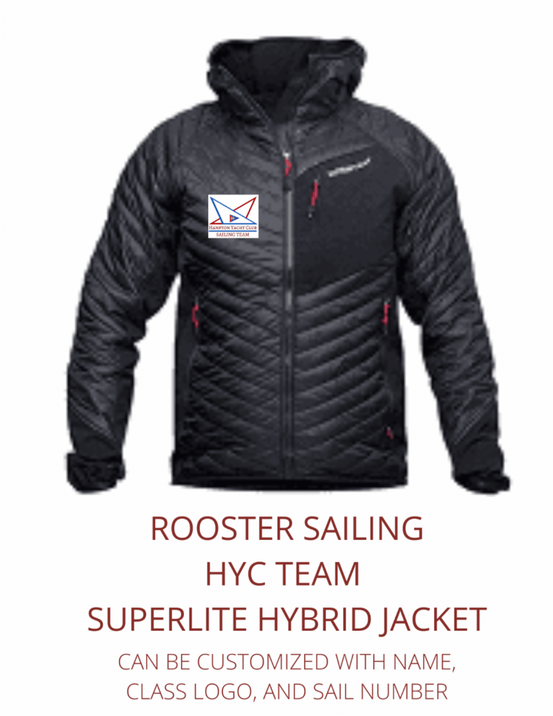 ROOSTER SAILING HYC TEAM SUPERLITE HYBRID JACKET
