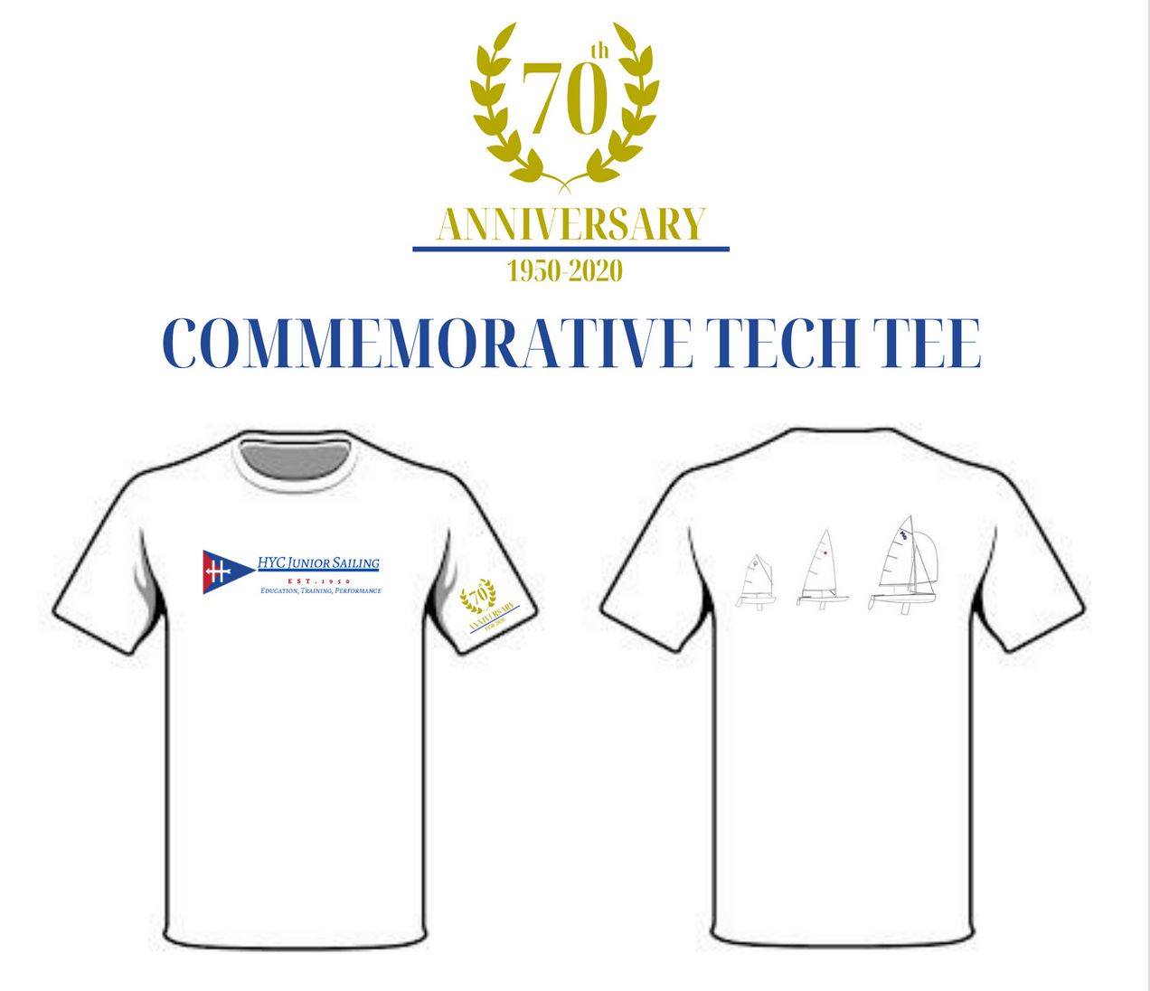 70th Anniversary Shirts
