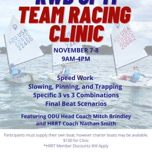 RWB OPTI Team Racing CLINIC