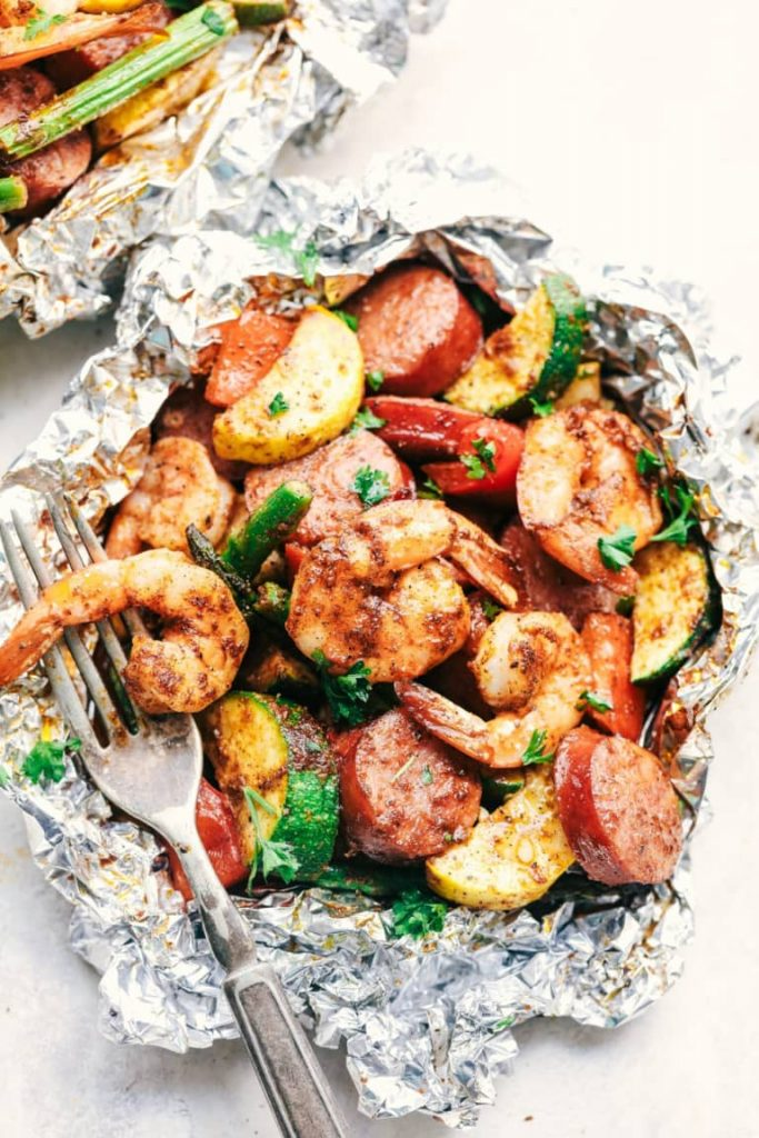 Grilled Seafood Boil